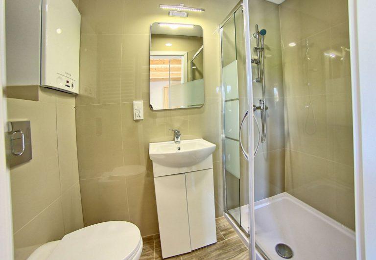 Łazienka w domkach