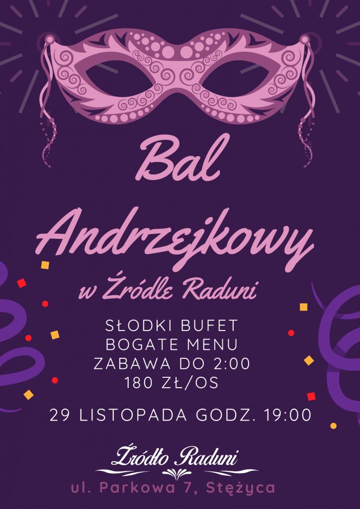 Plakat Bal Andrzejkowy